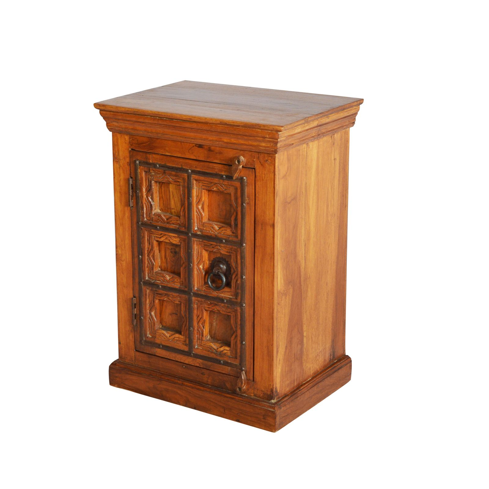 OLD TEAKWOOD BEDSIDE #RD BD 22 1 U2013 Indian Furniture Zone | By Ramdev Art  Exports