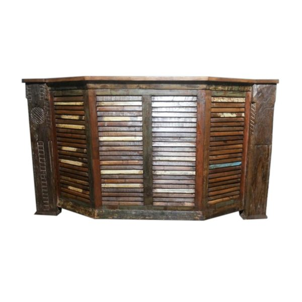Reclaimed Wood Bar Counter #RD-BR 02
