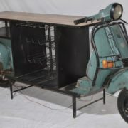 Iron INDUSTRIAL bajaj scooter Bar Counter #RD-BR 104