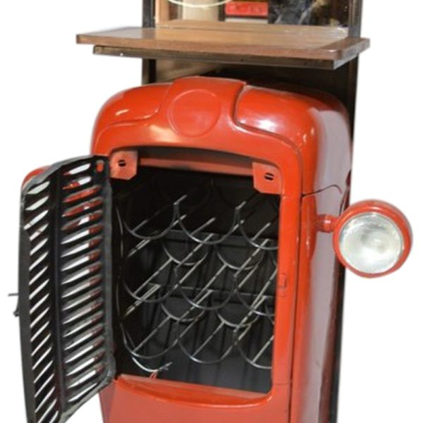 Vintage Massey Ferguson Tractor Upcycled Into Design Bar Counter #RD-BR 107