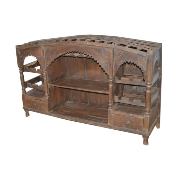 Wooden Doll Bar Counter #RD-BR 12
