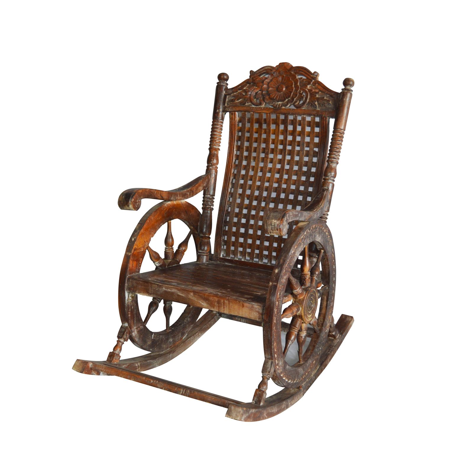Wooden Rocking Chair Indian Furniture Zone By Ramdev