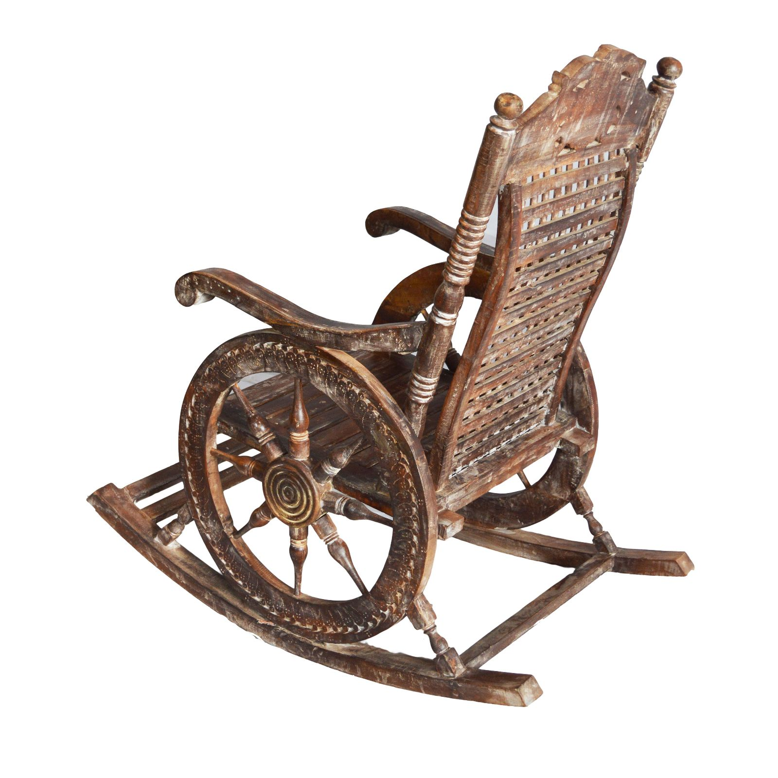 Wooden Rocking Chair Indian Furniture Zone By Ramdev